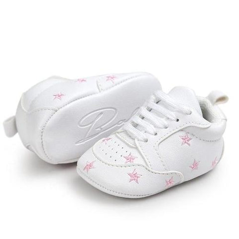 Newborn Baby Five-pointed Star Bandage Soft Sole - LoveLuve