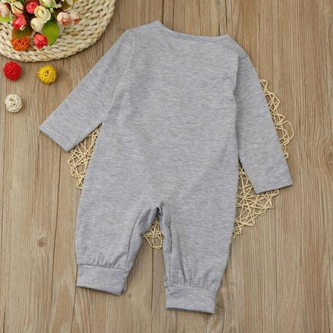 Image of Newborn Bodysuit Baby Girl Boy Clothes cotton - LoveLuve