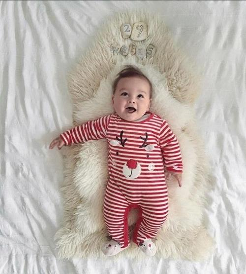 Newborn Kid Baby Deer Christmas Boys Girls Outfits - LoveLuve