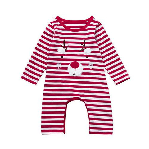 Image of Newborn Kid Baby Deer Christmas Boys Girls Outfits - LoveLuve
