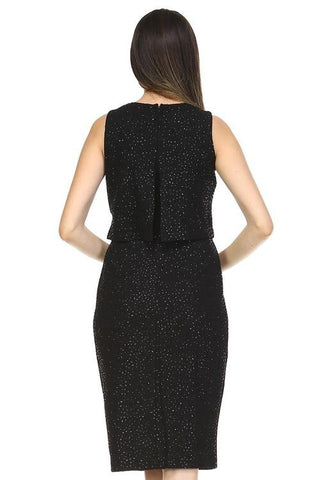 Image of Women's Sequin Evening Dress