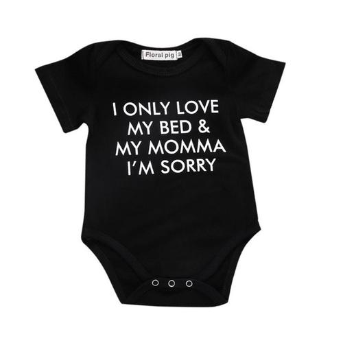 Summer 2018 baby bodysuits Newborn Infant Baby - LoveLuve