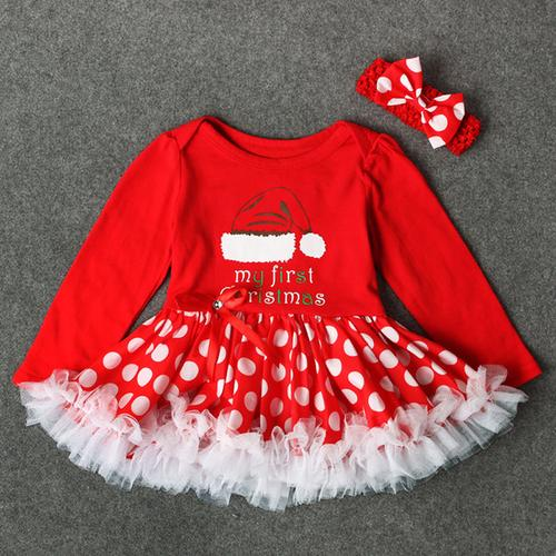 Toddler Newborn Baby Girls dress Princess Letter