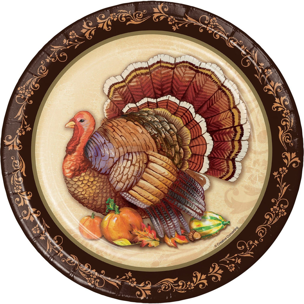 Thanksgiving Harvest Pumpkin Turkey Fall Party Tableware Decorations Supplies - LoveLuve