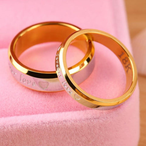 Forever Love Couple Matching Ring For Lovers - LoveLuve