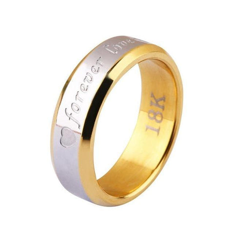 Image of Forever Love Couple Matching Ring For Lovers - LoveLuve