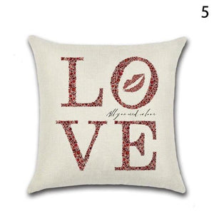 Love Printed Cushion Decorative Case For Sofa