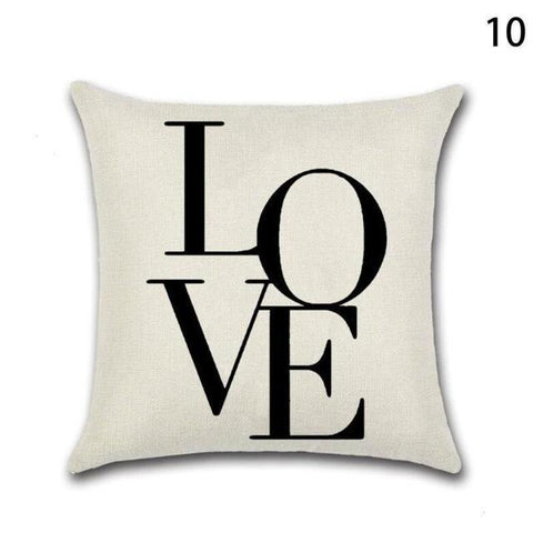 Love Printed Cushion Decorative Case For Sofa - LoveLuve