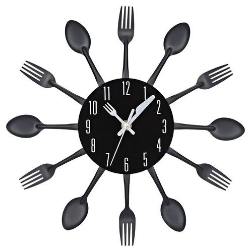 Kitchen Cutlery Wall Clock - LoveLuve