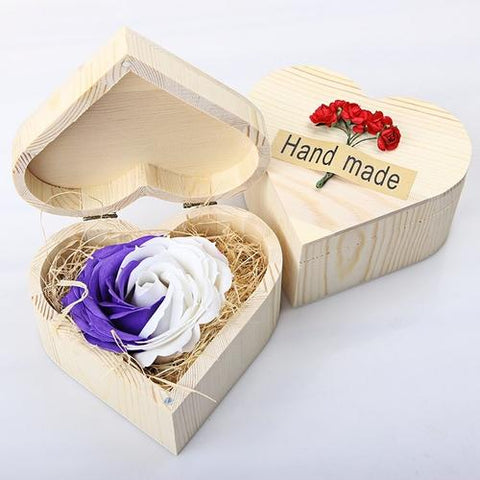 Image of Handmade Rose Soap - LoveLuve