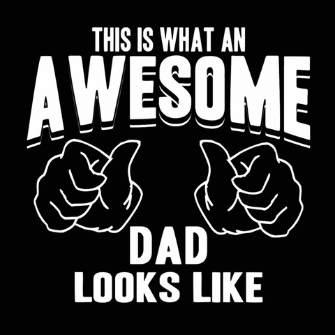 Image of Awesome Dad  Crewneck Sweatshirt - LoveLuve