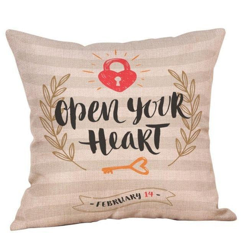 Valentine Decorative Pillowcases Gift - LoveLuve