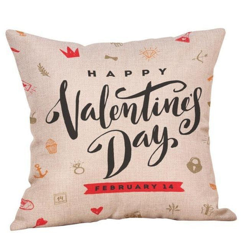 Image of Valentine Decorative Pillowcases Gift - LoveLuve