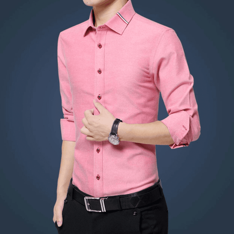 Mens Shirt with Ribbon Details - LoveLuve