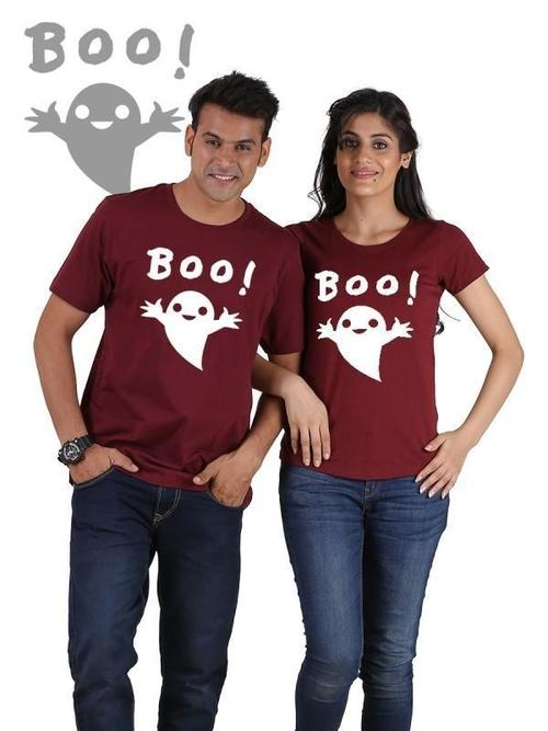 Boo !!! Couple T-Shirts - LoveLuve