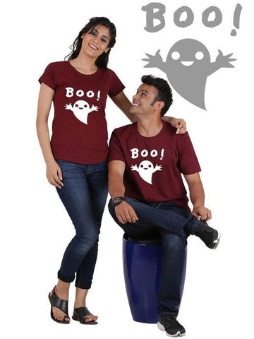 Image of Boo !!! Couple T-Shirts - LoveLuve