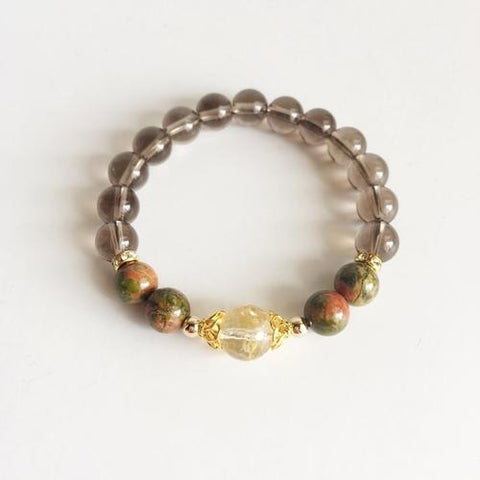 Image of Self-Esteem Boost ~ Citrine, Smokey Quartz and - LoveLuve