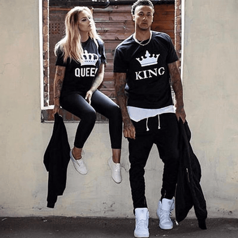 Image of KING & QUEEN Couple Shirt - LoveLuve