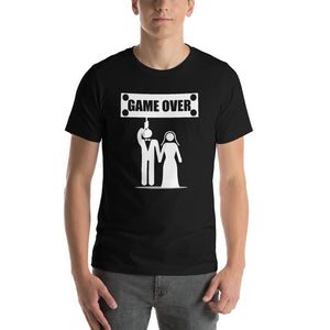 Game Over Couple Funny T-Shirt - LoveLuve