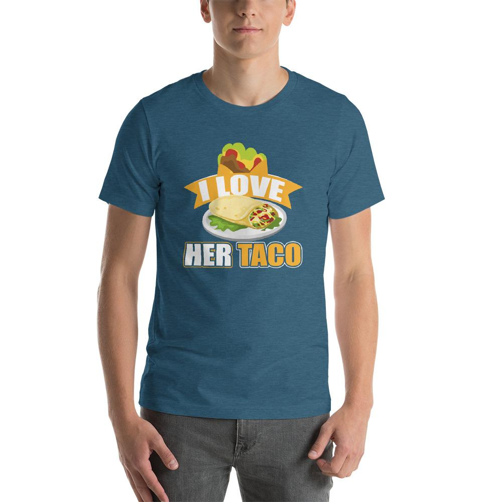 I Love Her Taco Short-Sleeve Unisex Funny T-Shirt - LoveLuve