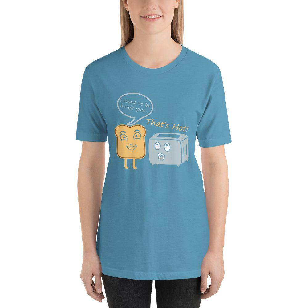 Toast Toasty Short-Sleeve Unisex Funny T-Shirt For Her - LoveLuve