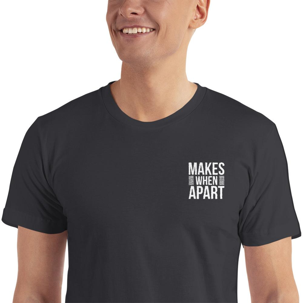 Makes When Apart Embroidered T-Shirt - LoveLuve