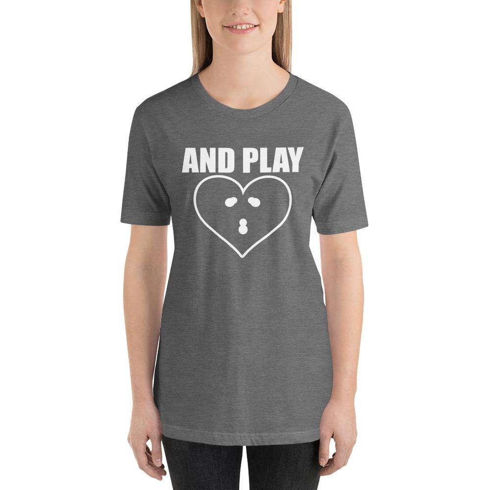And PLAY Couples Matching Short-Sleeve Unisex Funny T-Shirt - LoveLuve
