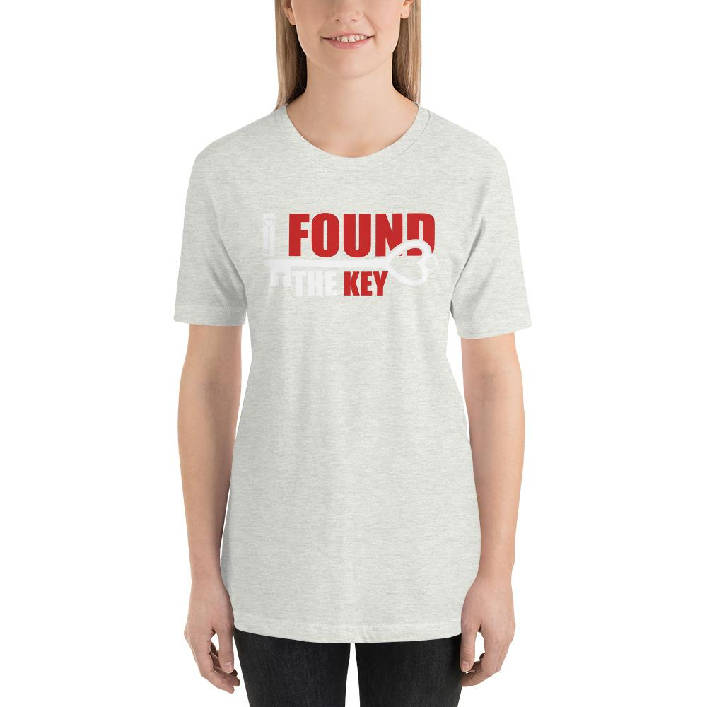 I Found The Key Funny Unisex T-Shirt - LoveLuve