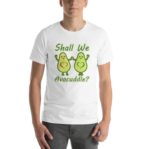 Shall we Avocuddle Short-Sleeve Unisex  Funny T-Shirt For Men
