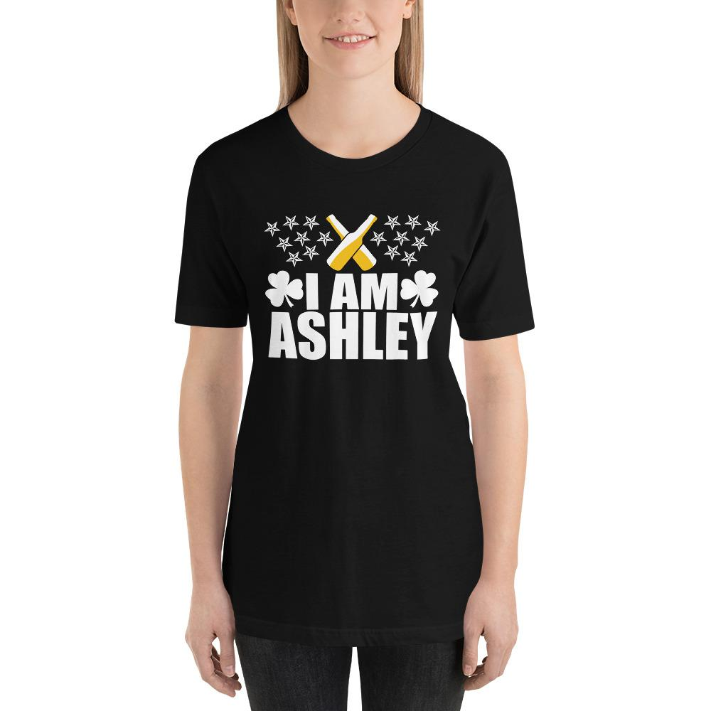 I am Ashley Short-Sleeve Unisex Funny T-Shirt - LoveLuve