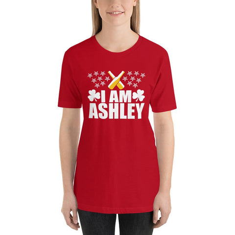 Image of I am Ashley Short-Sleeve Unisex Funny T-Shirt - LoveLuve