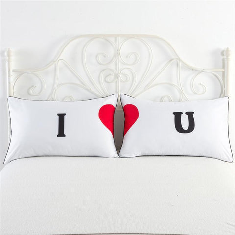Image of One Pair New Love Style Pillowcase For Lovers - LoveLuve