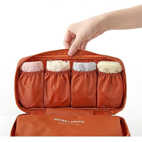 Image of Women Bra & Underwear Organizer Travel Bag