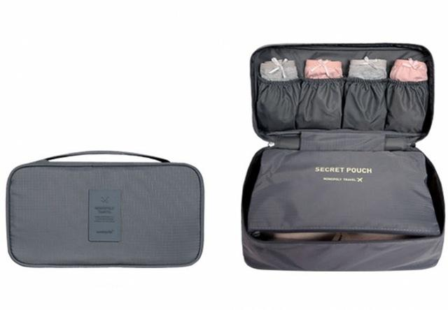 Women Bra & Underwear Organizer Travel Bag