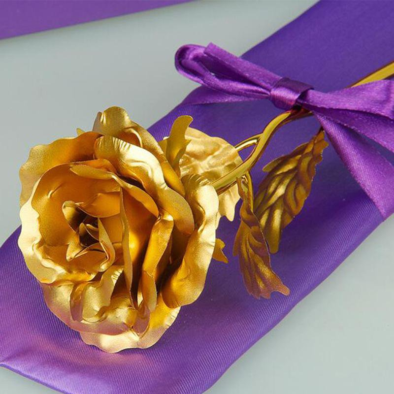 Gold Rose 24K Gold Foil FLOWER - LoveLuve
