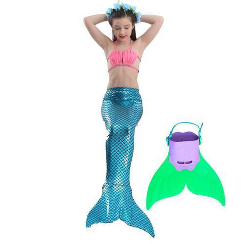 Image of Mermaid Swimming Outfit - LoveLuve