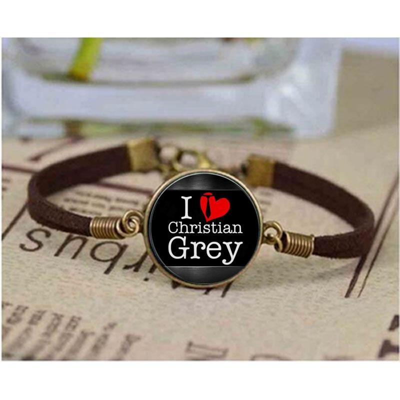 1pcs/lot Fifty Shades of Grey,Fifty Grey bracele,50 Shades of Grey bracelet, Laters Baby Jewelry, art bracelet, gift for Her Him - LoveLuve