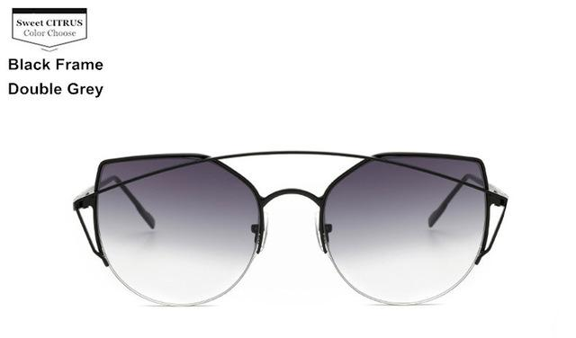 Cat Eye Metal Original Women Sunglasses - LoveLuve