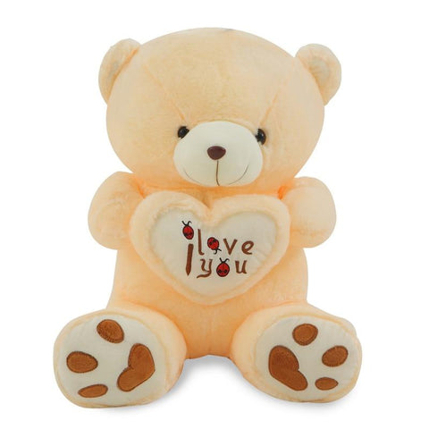 Image of Big Size Stuffed Plush I Love You Teddy Bear