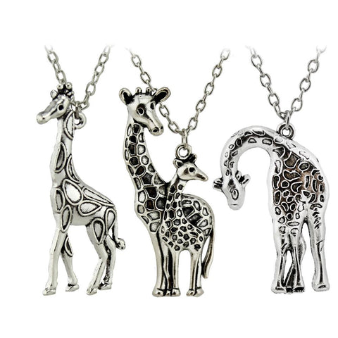 Mother's Love Giraffe Necklace - LoveLuve