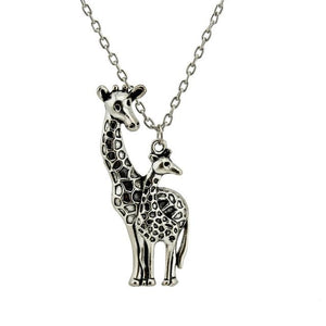 Mother's Love Giraffe Necklace