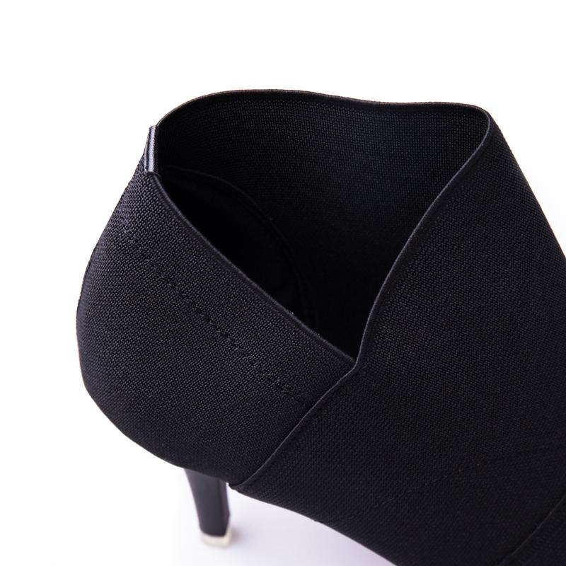 Pointed Toe Women Autumn Casual High Heels - LoveLuve