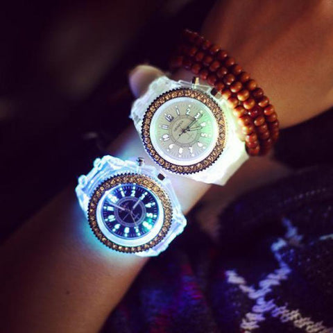 Image of LED Sport Couple Matching Watches