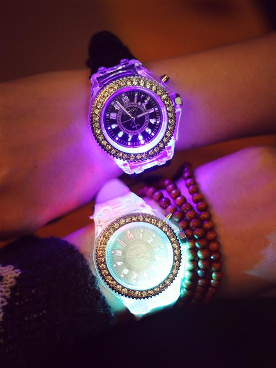 LED Sport Couple Matching Watches