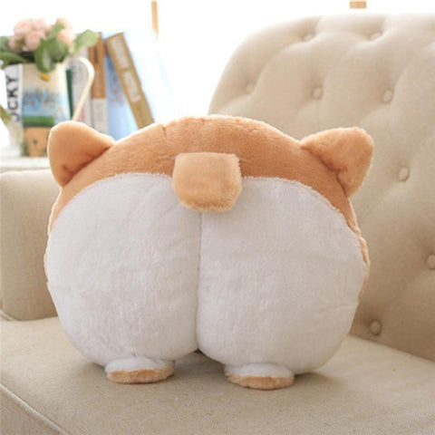 Image of Cute Puppy Corgi Bottom Car Seat Neck Pillow