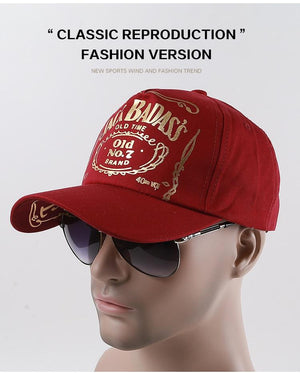 Red Baseball Caps Summer Women Cap