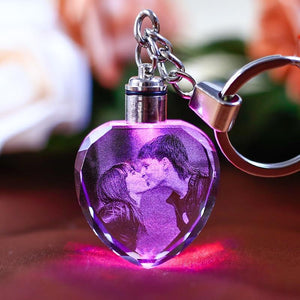 Personalized Valentines Day Key Chain