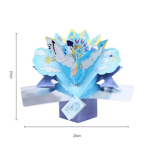 Valentine's Day Cards Postcard with Envelopes 3D pop up Paper Laser Cut Birthday greeting card Valentines Day gift for lover Flo