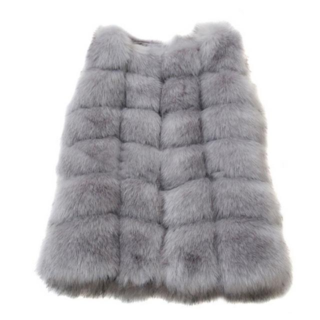 High Quality Faux Fur Warm Women Winter Coats - LoveLuve