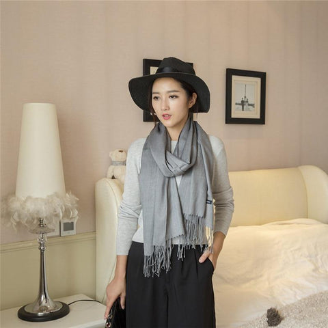 Image of Best Quality Wool Cashmere Pashmina Shawl - LoveLuve